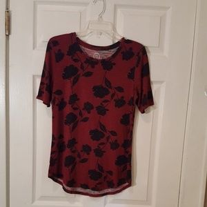 Maurices Short Sleeve Shirt- M